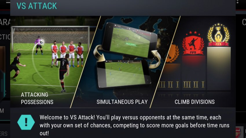 FIFA Mobile – VS Attack Mode