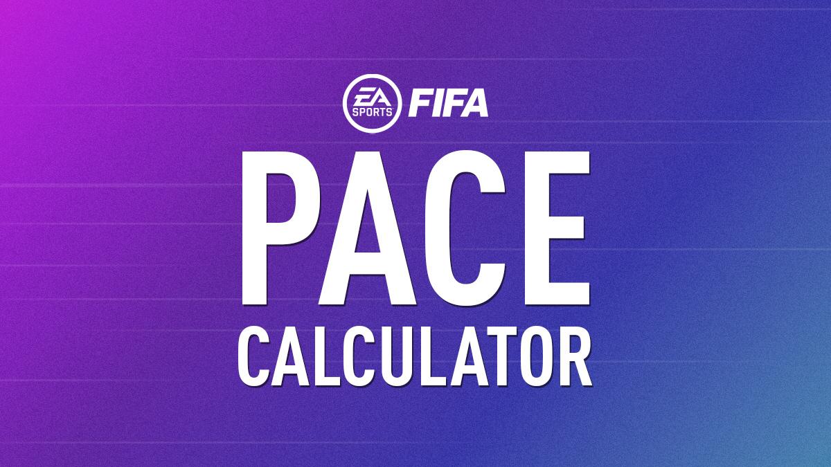 FUT Pace Calculator