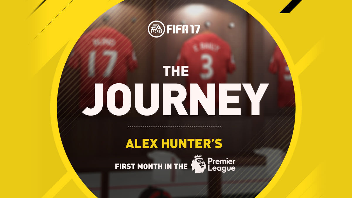FIFA 17 The Journey – An Infographic