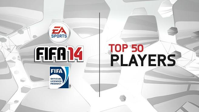 FIFA 14 Top 50 Players