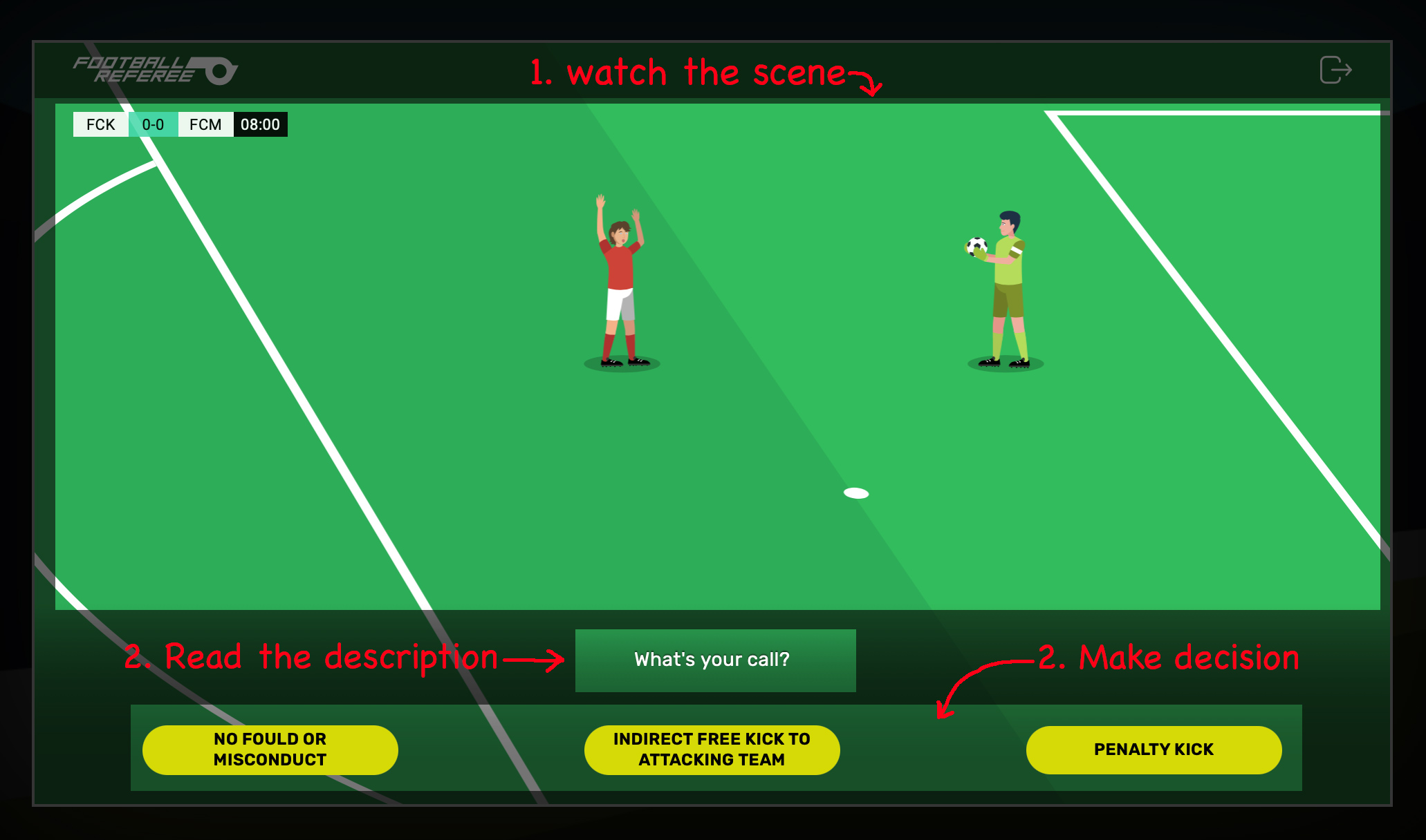 Football Referee In-Game