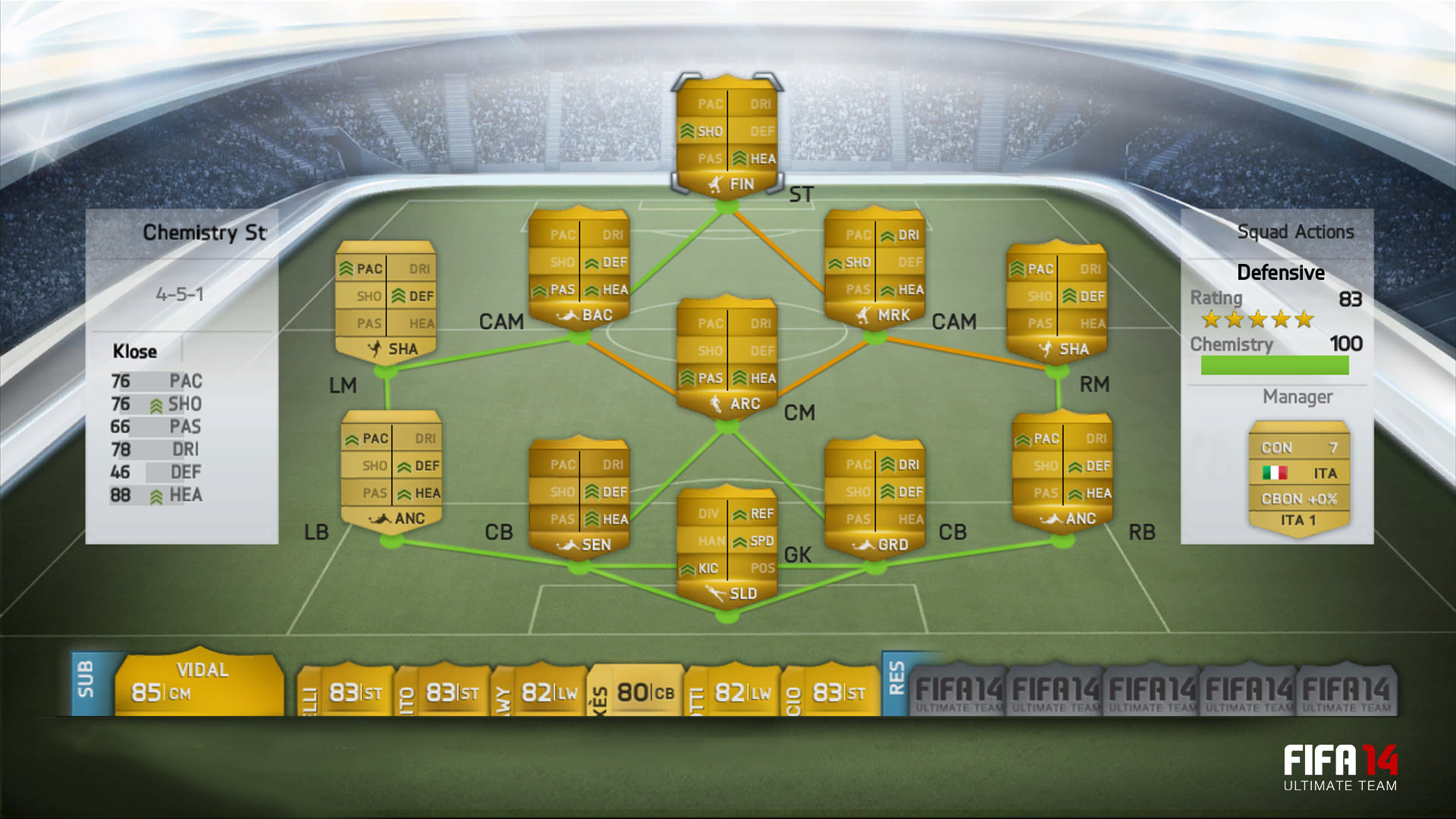 FIFA 14 Ultimate Team