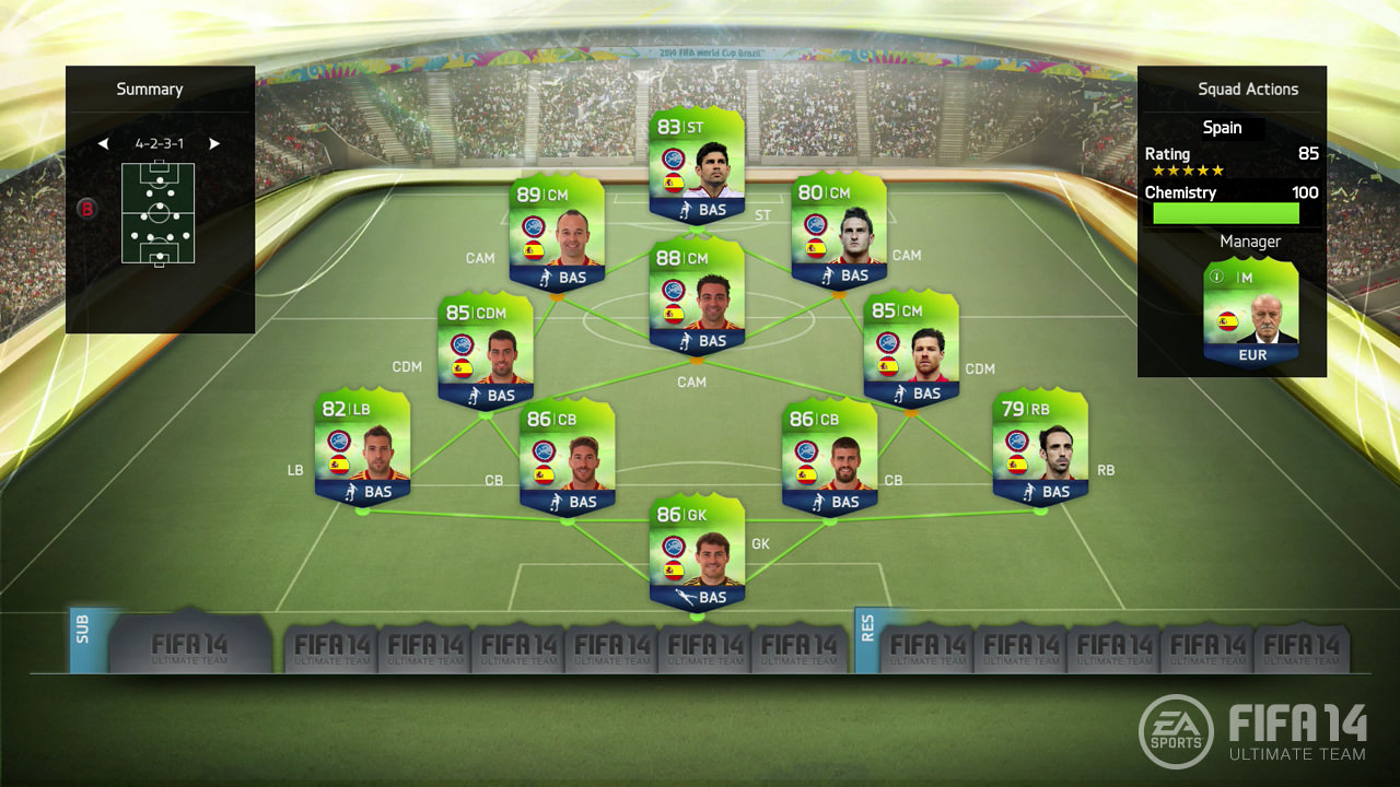 FUT 14 World Cup Update