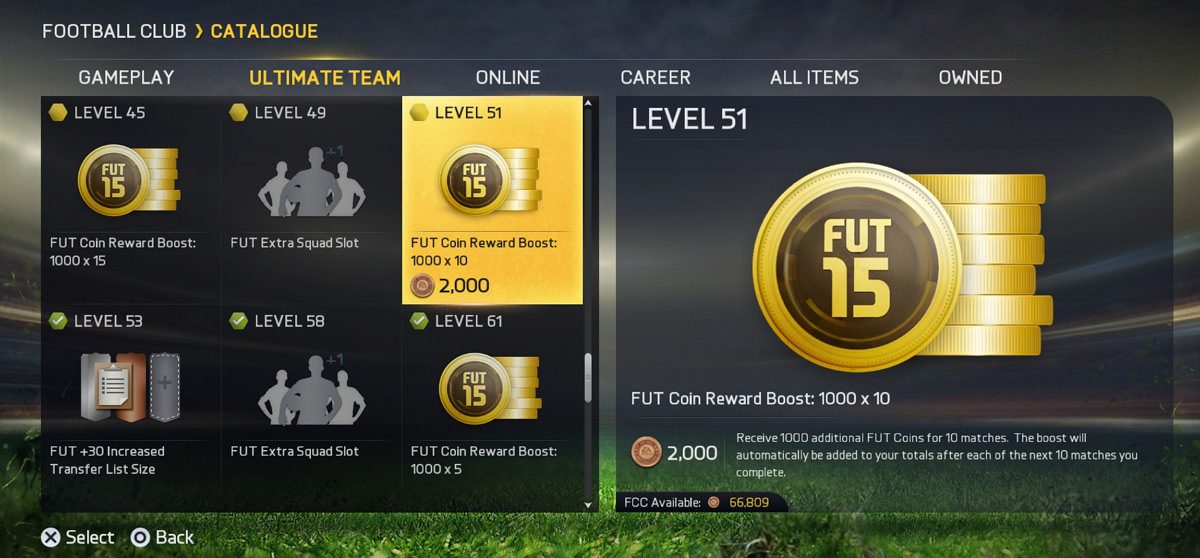 fut 15 catalogue coin boost FIFA 15 Ultimate Team Coins Making Guide without spending real money