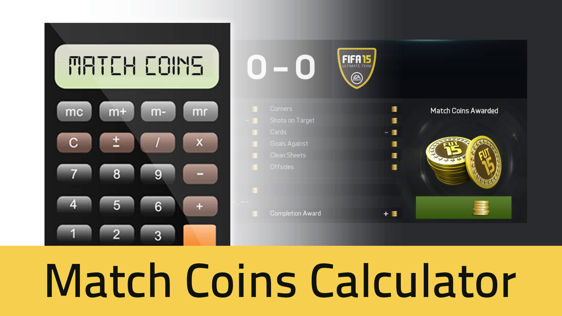 FUT 15 Match Coins Calculator
