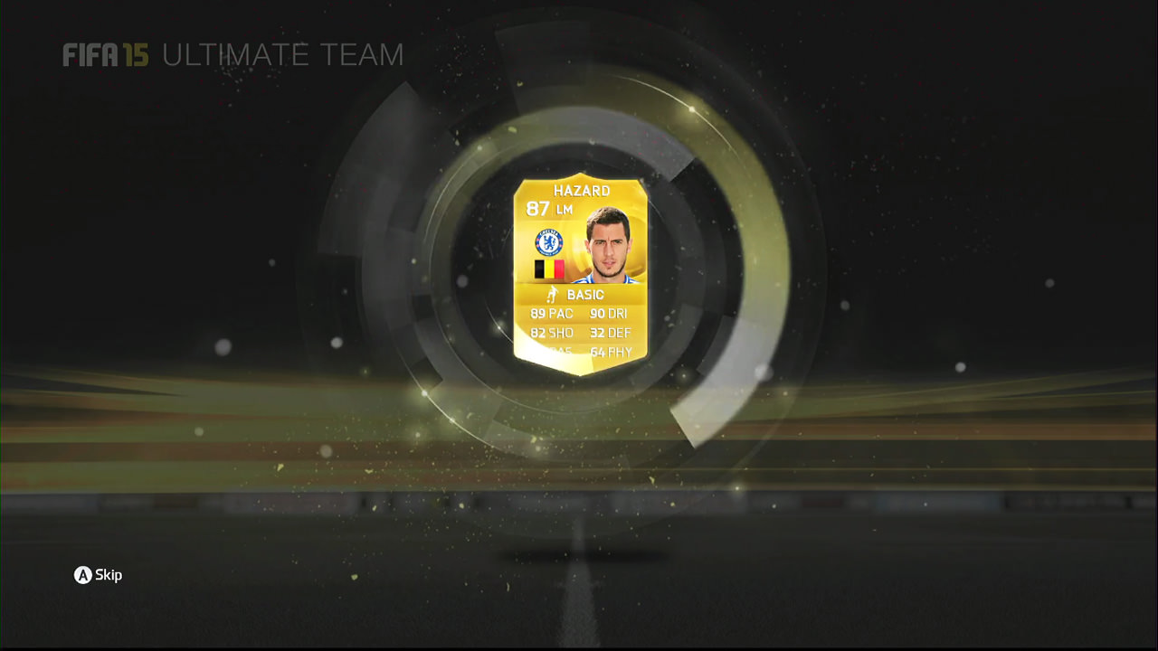 FIFA 15 Ultimate Team Pack Opening