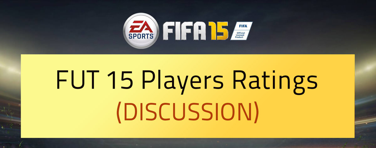 FUT 15 Ratings Players