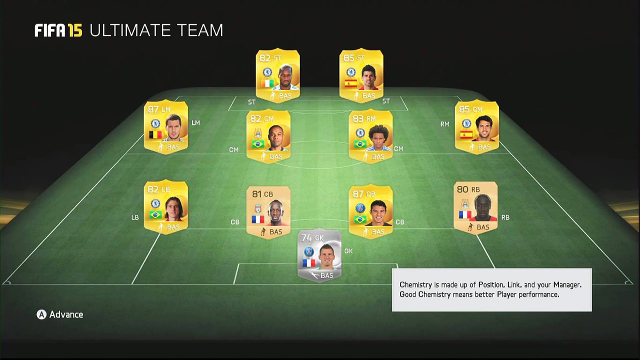 Fifa Coins Buy Wow Gold Game: FIFA 15 Ultimate Team Screenshots