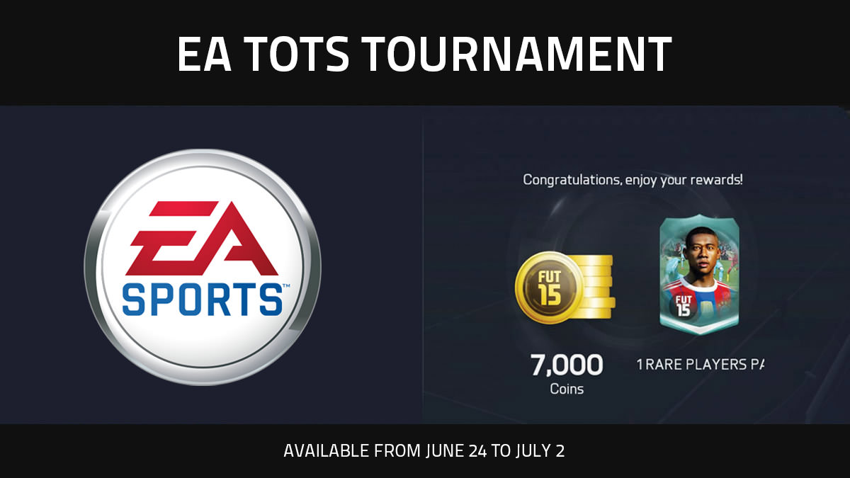 FUT 15 EA TOTS Tournament