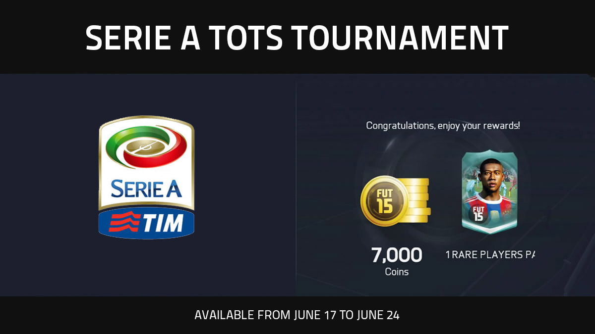FUT 15 Serie A TOTS Tournament