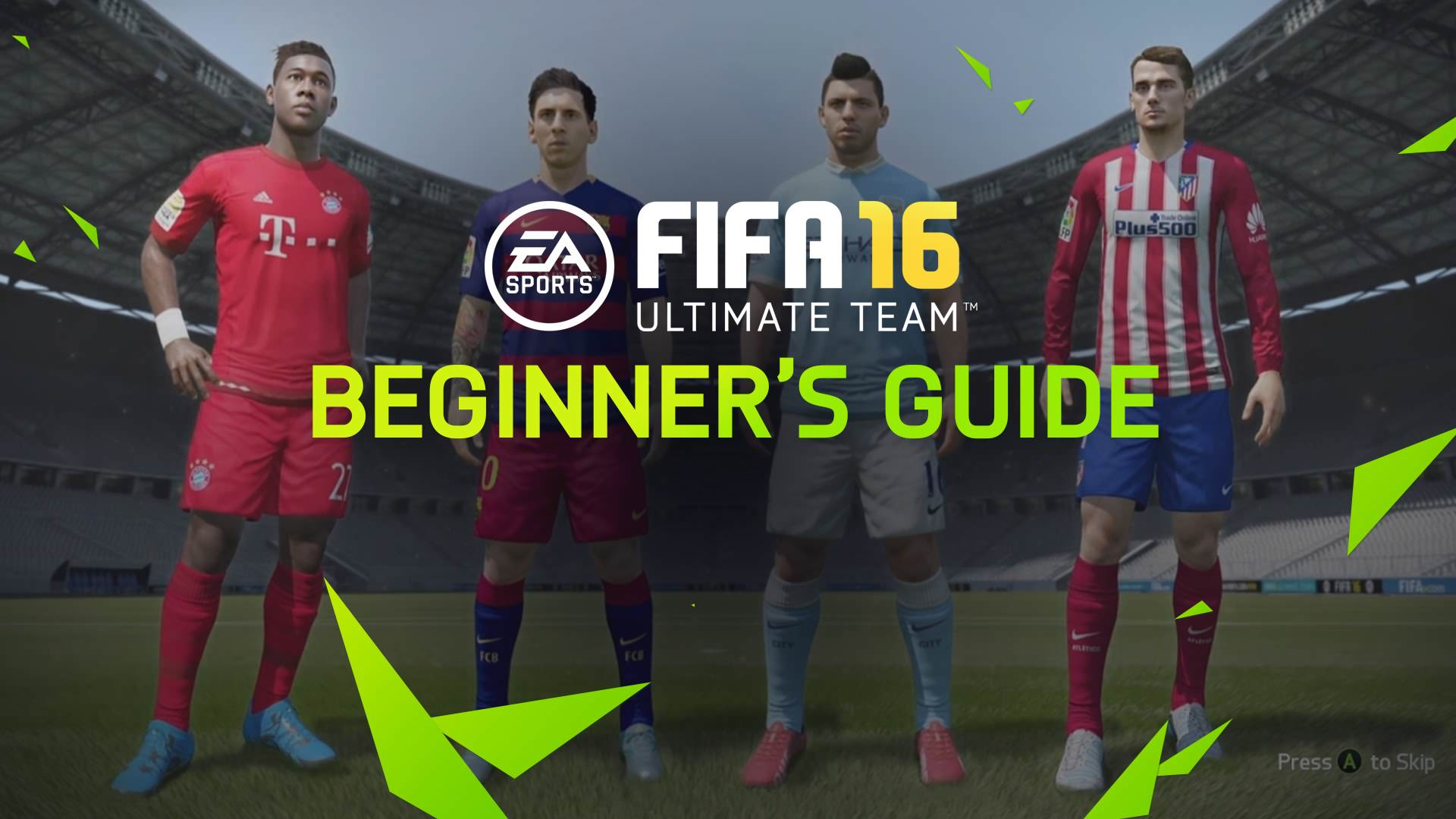 FIFA 16 Ultimate Team – A Beginner's Guide