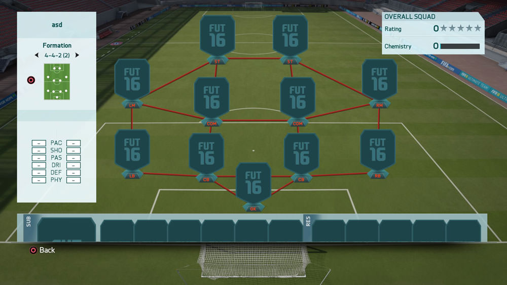 FIFA 16 Formation 4-4-2 (2)