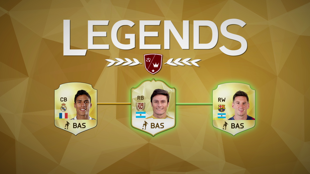 Legends Chemistry in FIFA 16