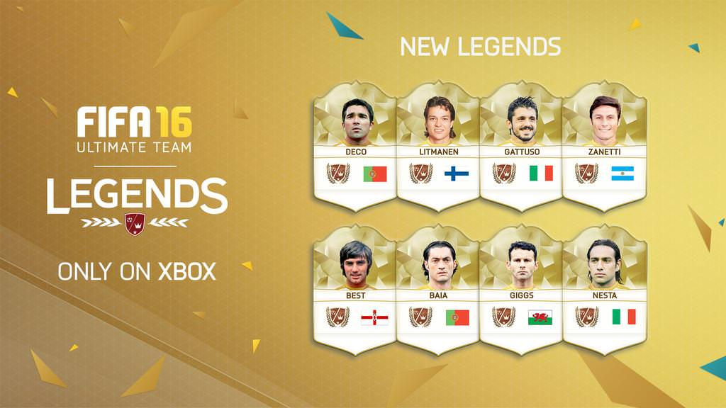 FIFA 16 Ultimate Team – Legends