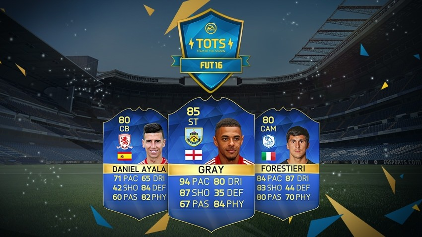 FIFA 16 Ultimate Team - Team of the Season - English Football League