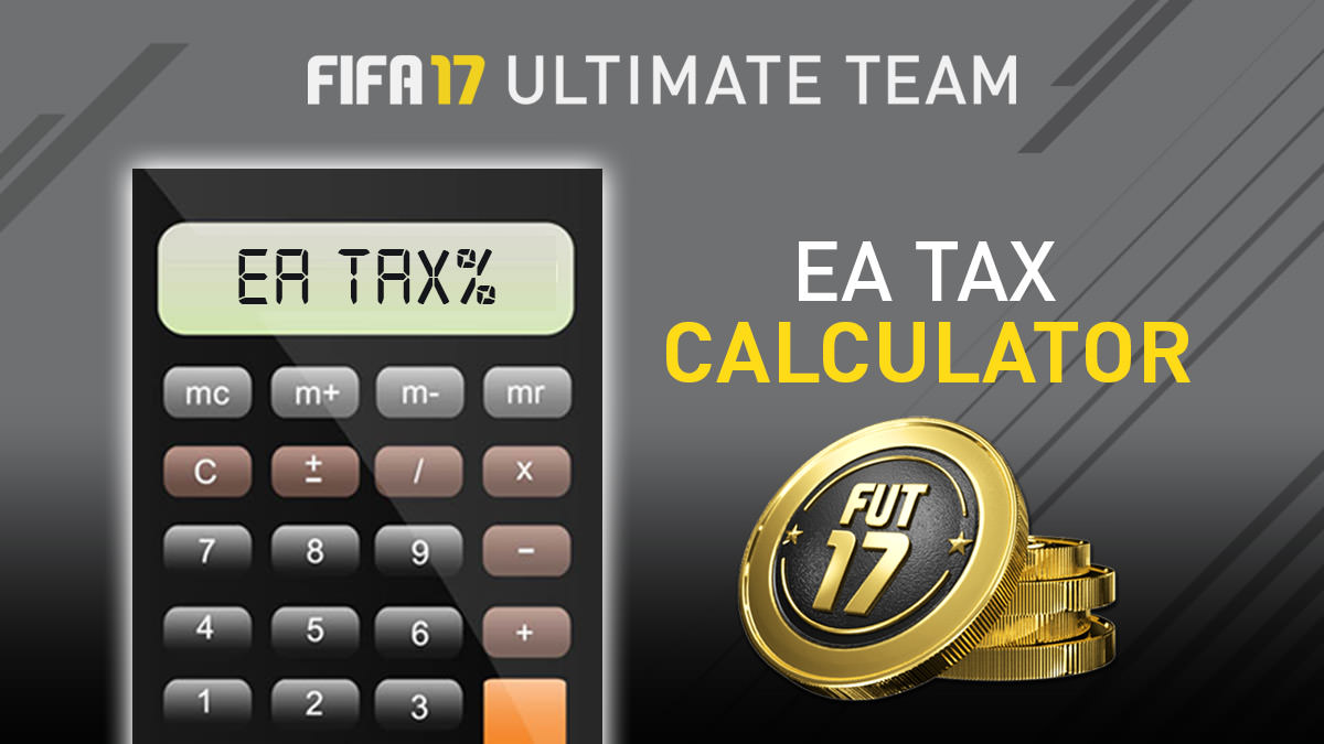 FIFA Ultimate Team Tax Calculator