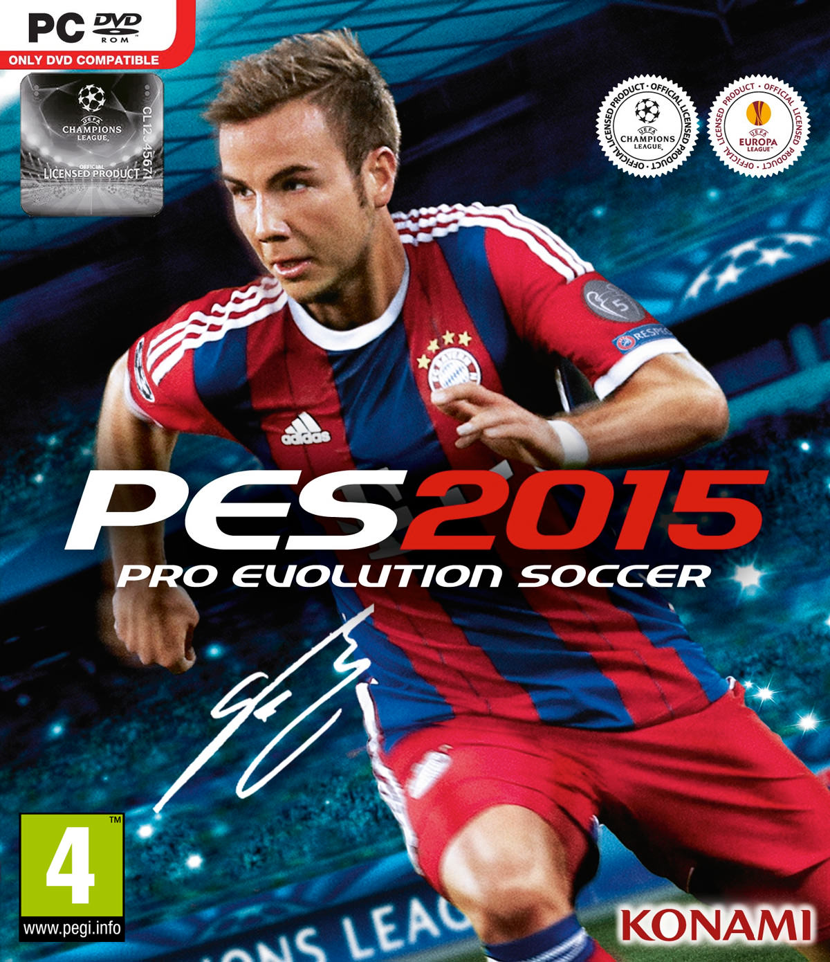 PES 2015 Cover PC