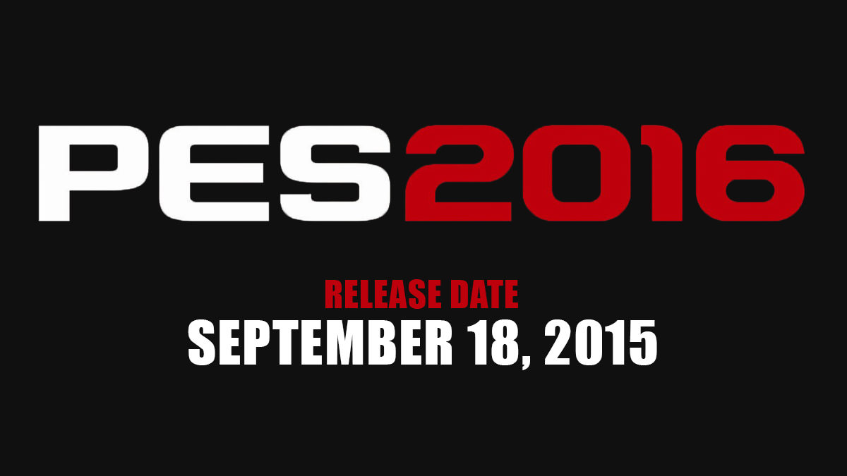 PES 2016 Release Date