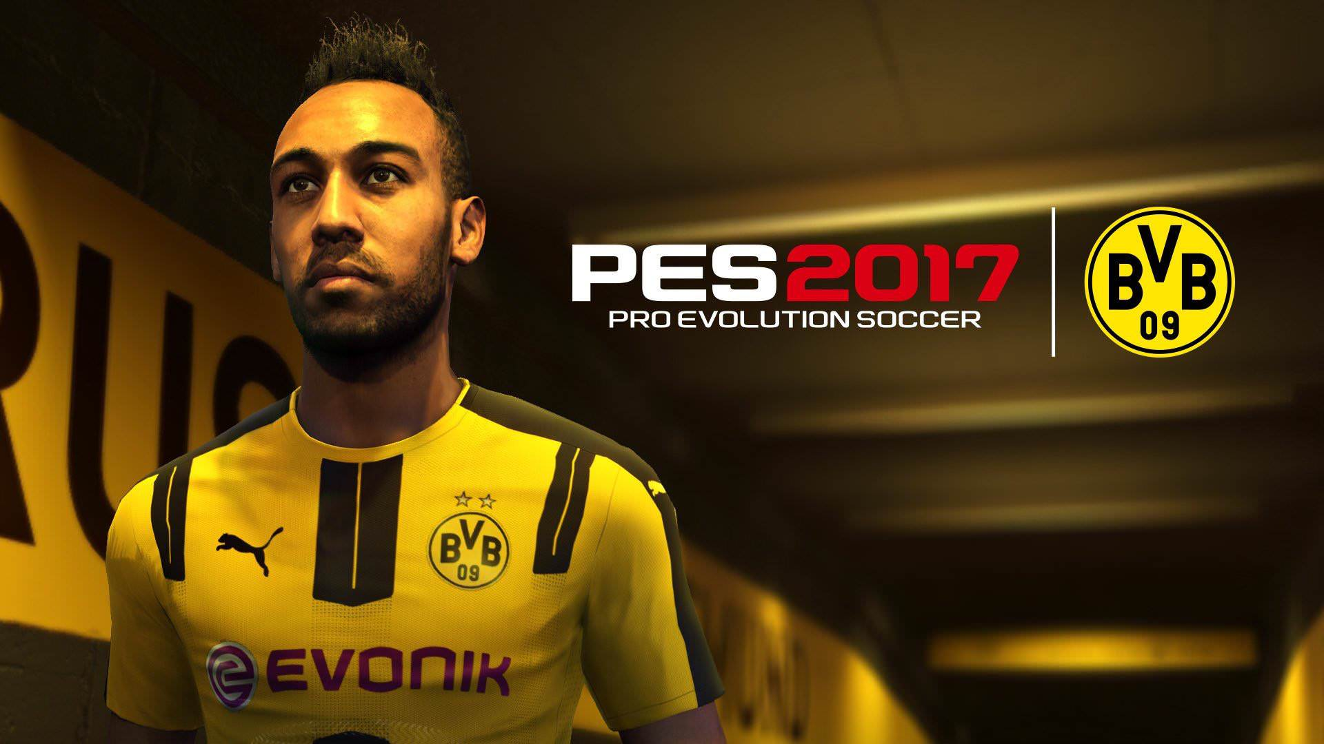PES 2017 – Borussia Dortmund Partnership with Konami