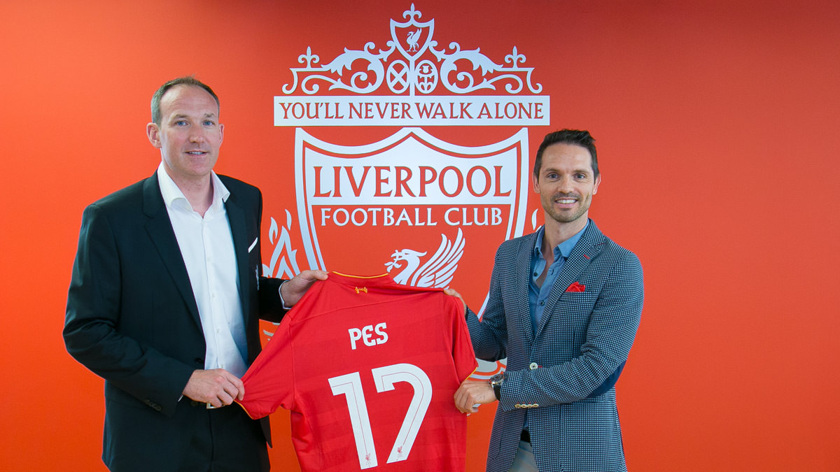 PES 2017 – Liverpool FC Partnership with Konami