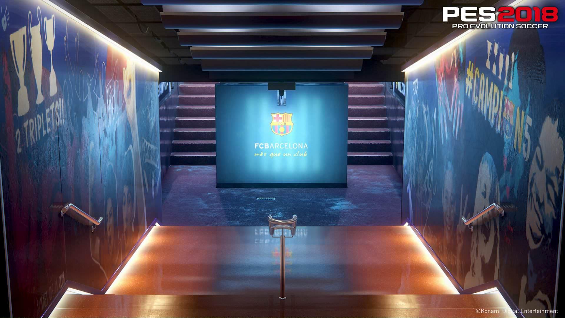 PES 2018 Camp Nou