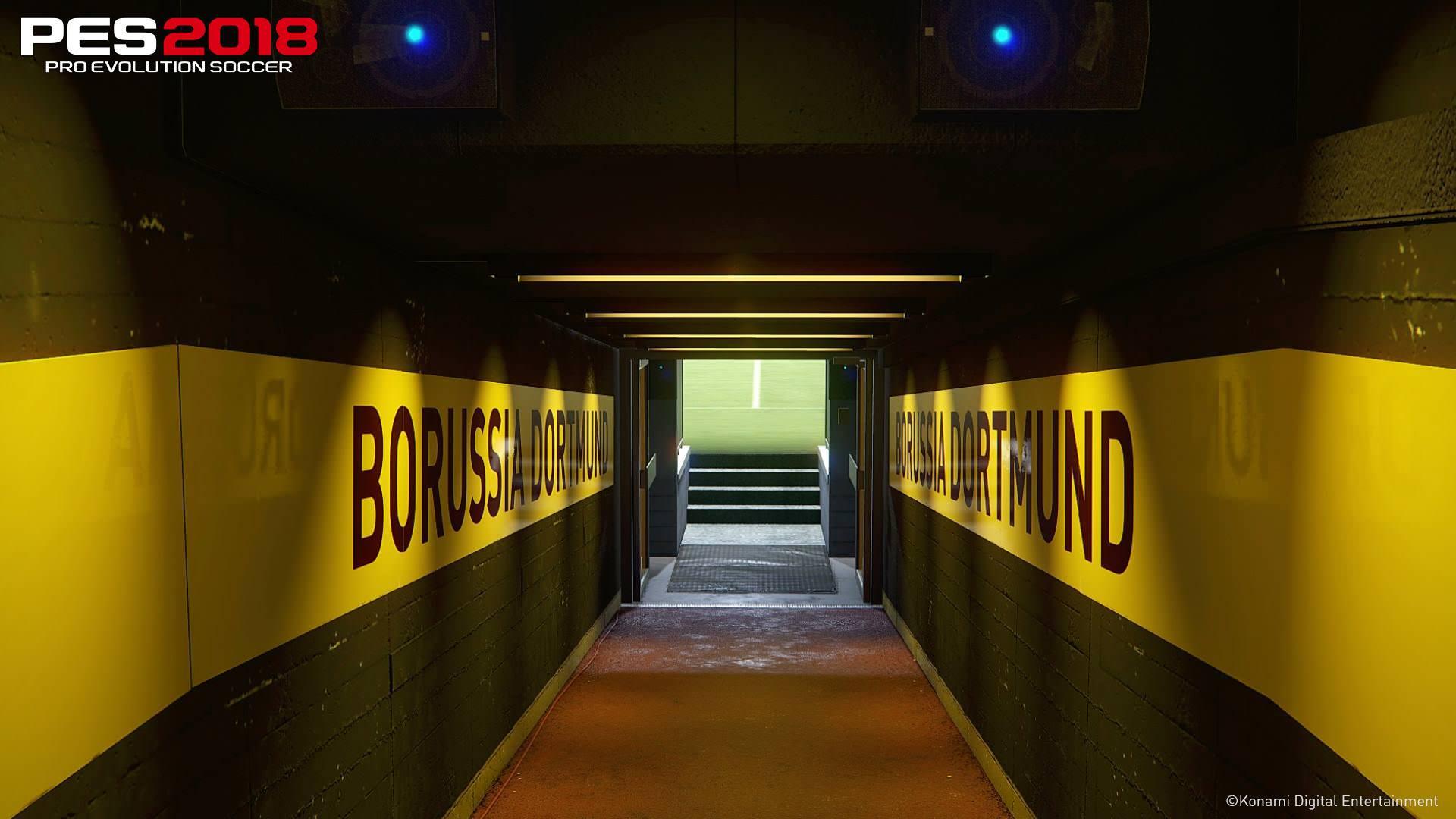 PES 2018 Dortmund