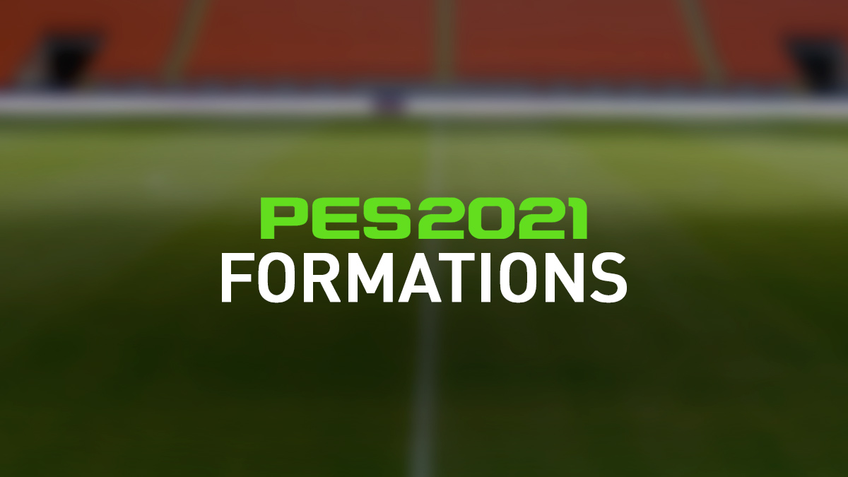PES 2021 Formations