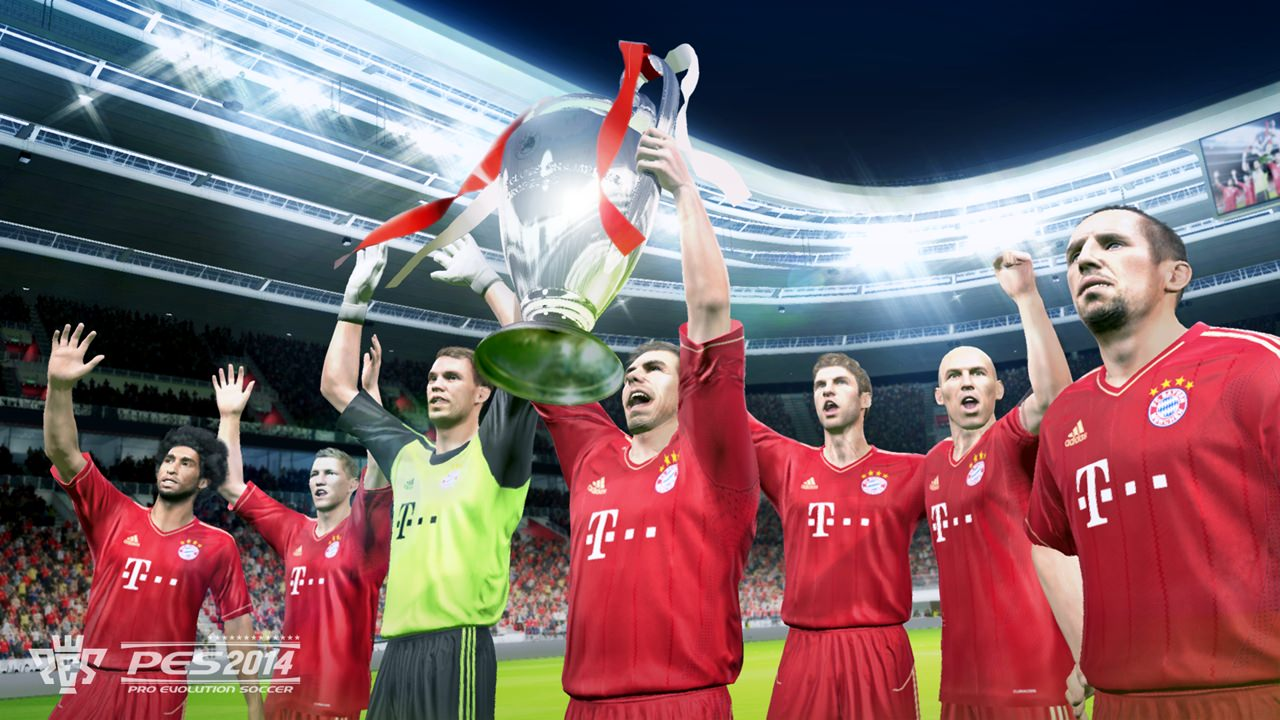 PES 2014 Screenshots (UEFA Champions League – FC Bayern Munich)