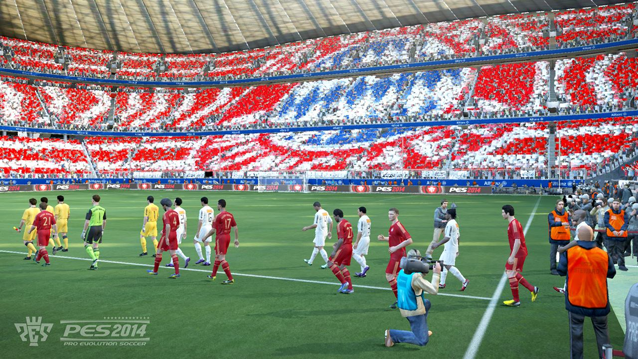 PES 2014 Screenshots (Stadium)
