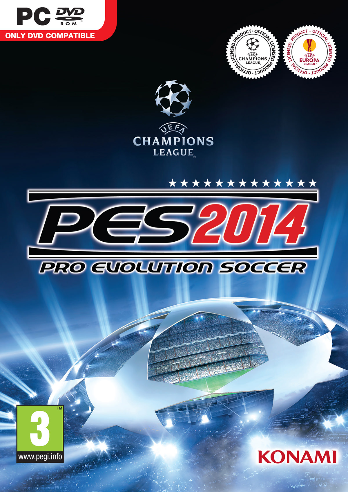 PES 2014 Cover PC