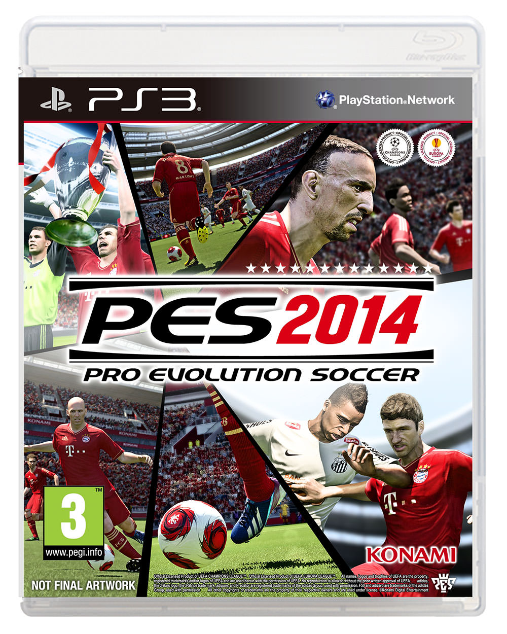 PES 2014 Cover shot