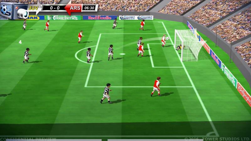 Sociable Soccer Screenshots