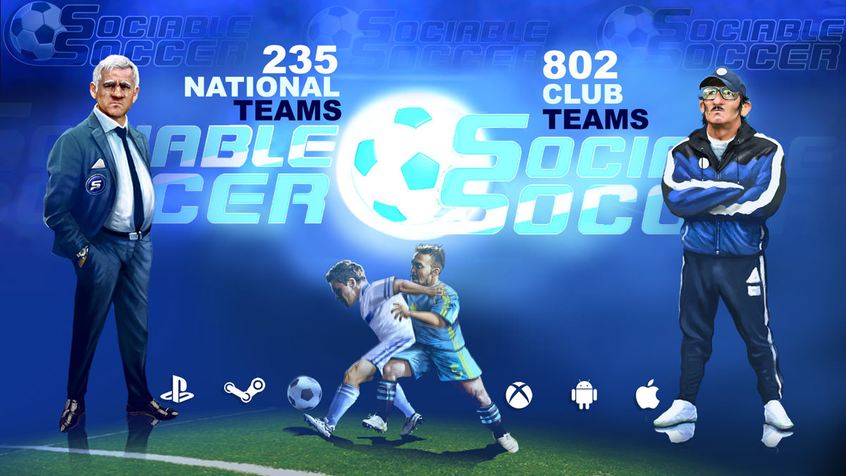 Sociable Soccer Trailer