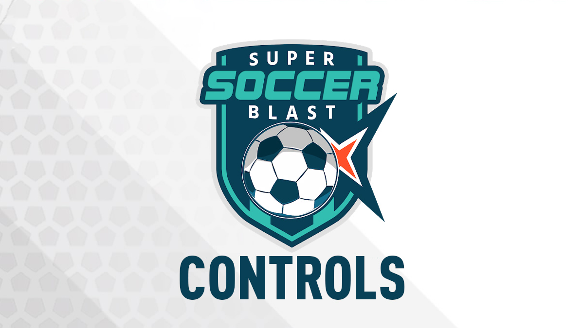 Super Soccer Blast Controls