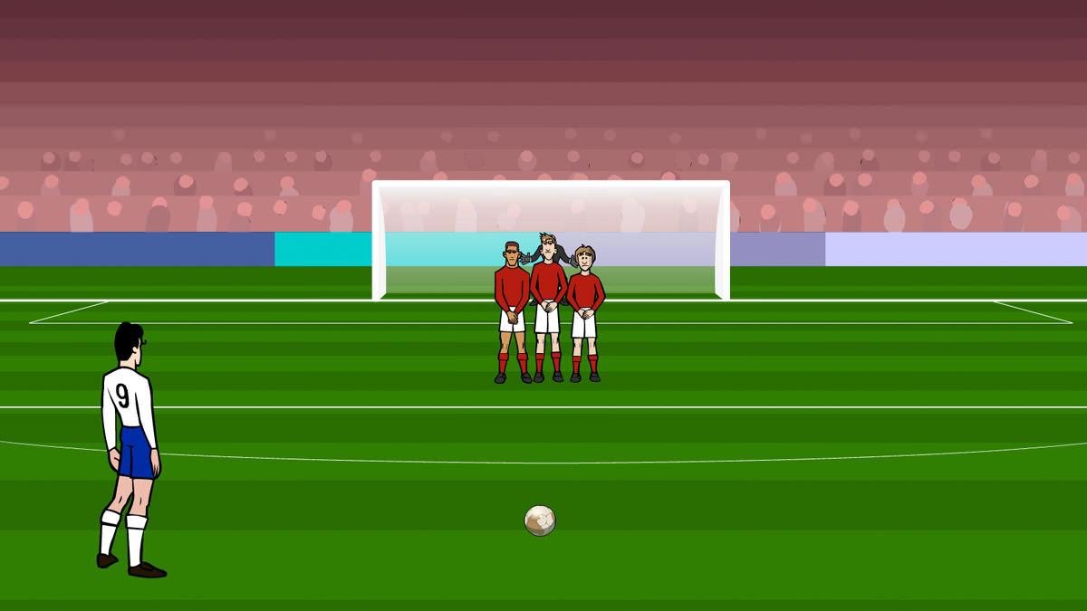 free kick soccer games online