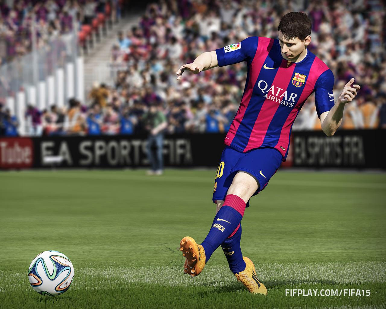 Download FIFA 15 Leo Messi Wallpaper