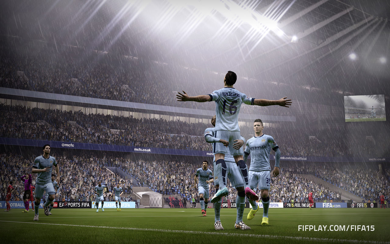 Download FIFA 15 Manchester City Wallpaper