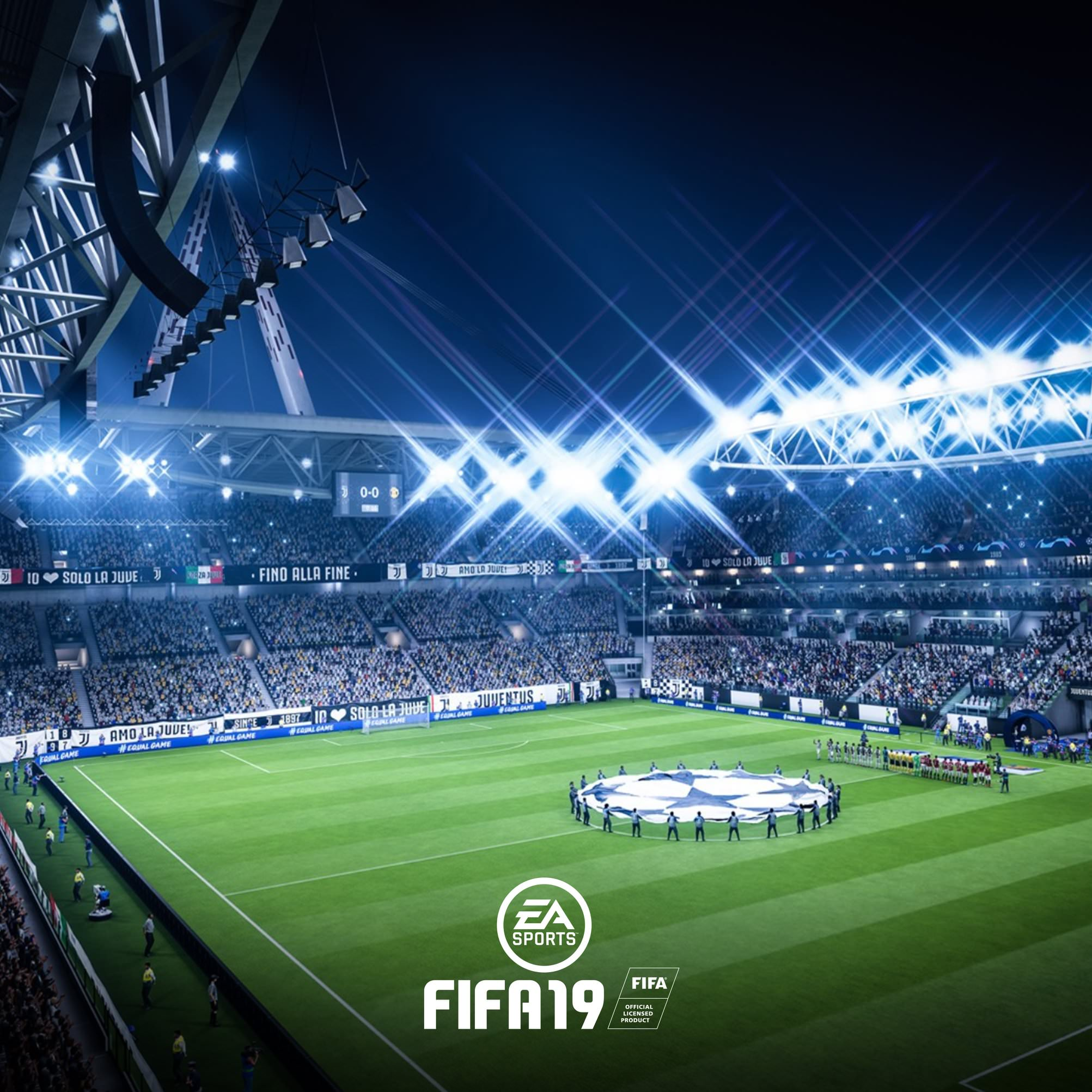 Download FIFA 19 Champions League Wallpaper For Tablet